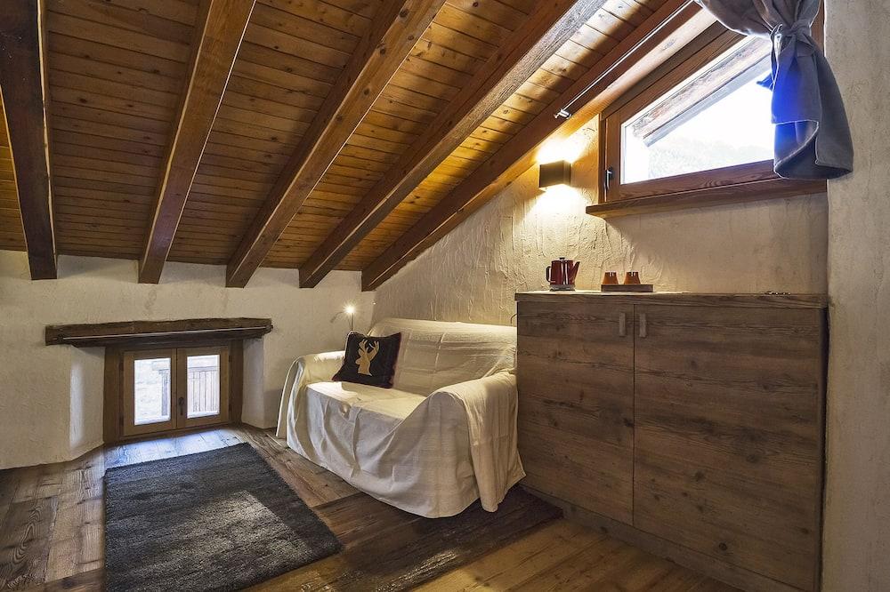 Apartament typu Comfort Suite, 1 sypialnia, widok na góry - Powierzchnia mieszkalna