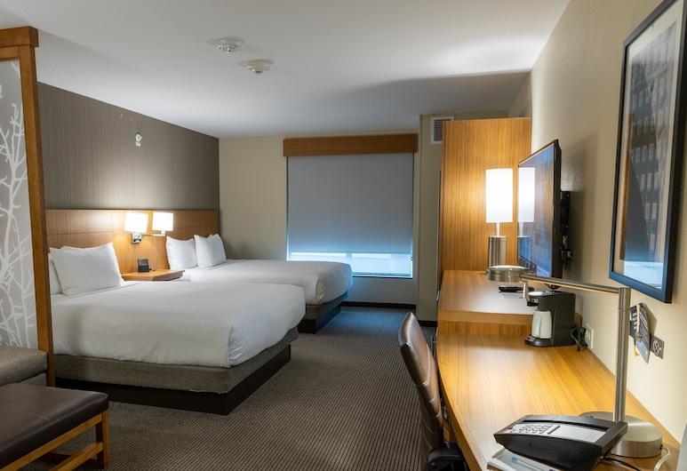 Hyatt Place West Des Moines Jordan Creek, West Des Moines, Room, Multiple Beds (2 Queen, 1 Sofa Bed), Guest Room