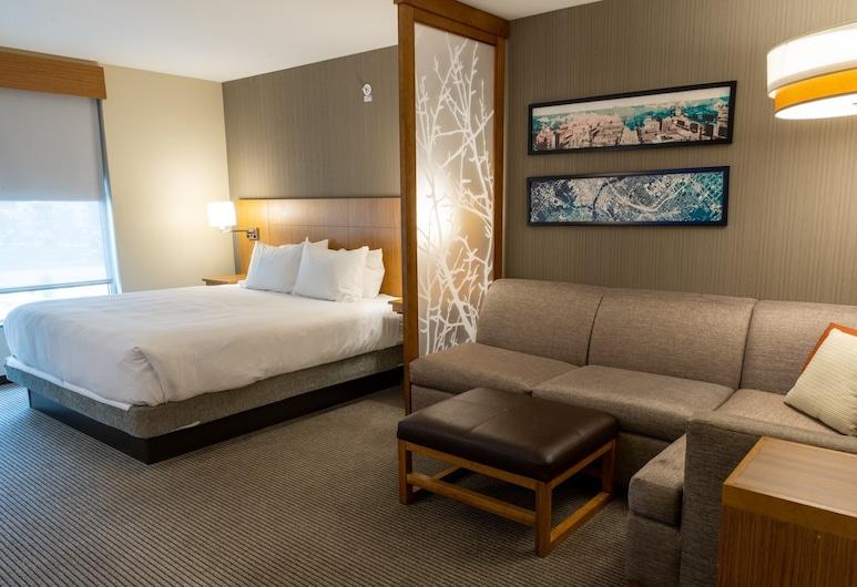 Hyatt Place West Des Moines Jordan Creek, West Des Moines, Suite, 1King-Bett und Schlafsofa, Zimmer