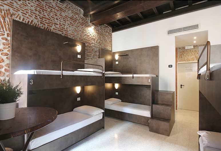 聖母大殿新世代青年旅舍, 羅馬, 共用宿舍, 男女混合宿舍 (Smart Sextuple Room), 客房