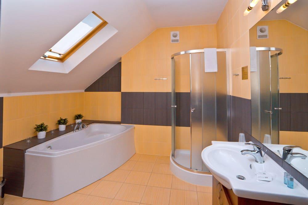 豪華客房, 1 張特大雙人床 - 浴室