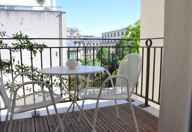 Amastan, Paris, Classic Double Room, Balcony, Balcony View