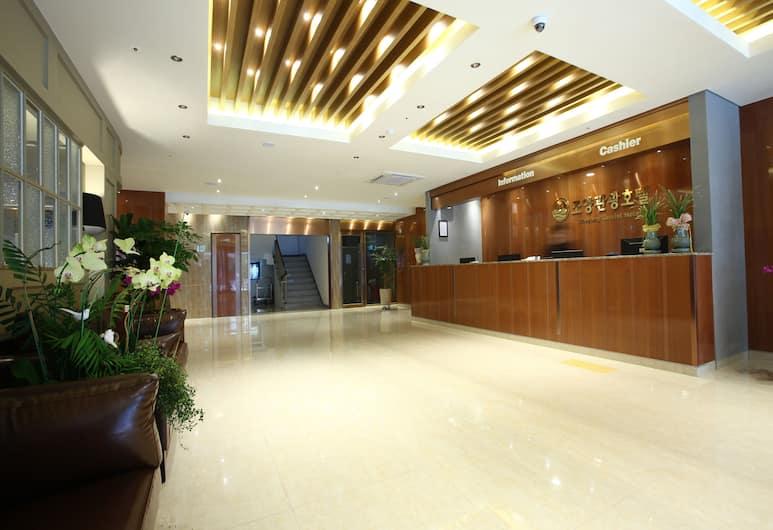 Hotel Sopra, Incheon, Reception