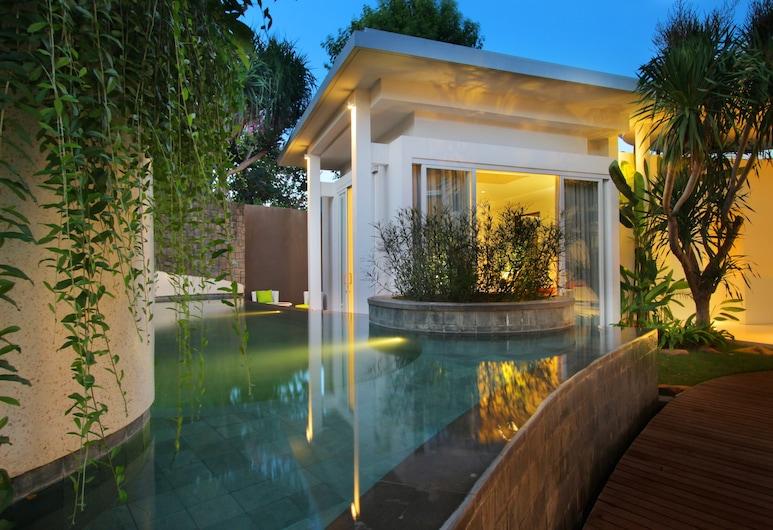 Taman Mesari Luxury Villas-Seminyak, Seminyak, Two Bedroom Private Pool Villa with Airport Pickup + Tasty Breakfast, View from room