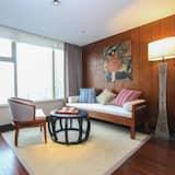 Habitación Deluxe con 2 camas individuales - Sala de estar