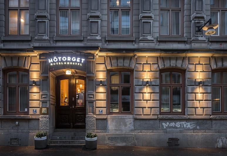 ホテル ヒョートリエット, ストックホルム, ホテルのフロント