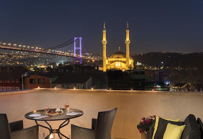Nevv Bosphorus Hotel & Suites, İstanbul, Süit, Teras, Oda