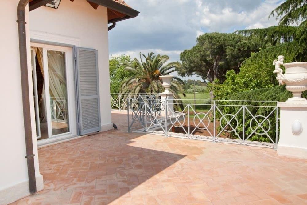 Dobbeltværelse med dobbeltseng eller 2 enkeltsenge - Terrasse/patio