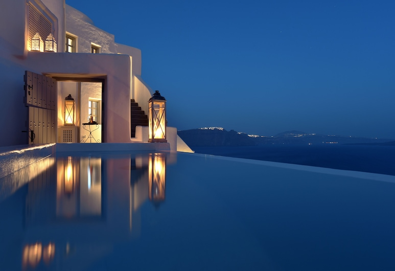 Ducato di Oia, Santorini, Folegandros - Premium Suite with Infinity Outdoor Plunge Pool and Caldera View, Guest Room View