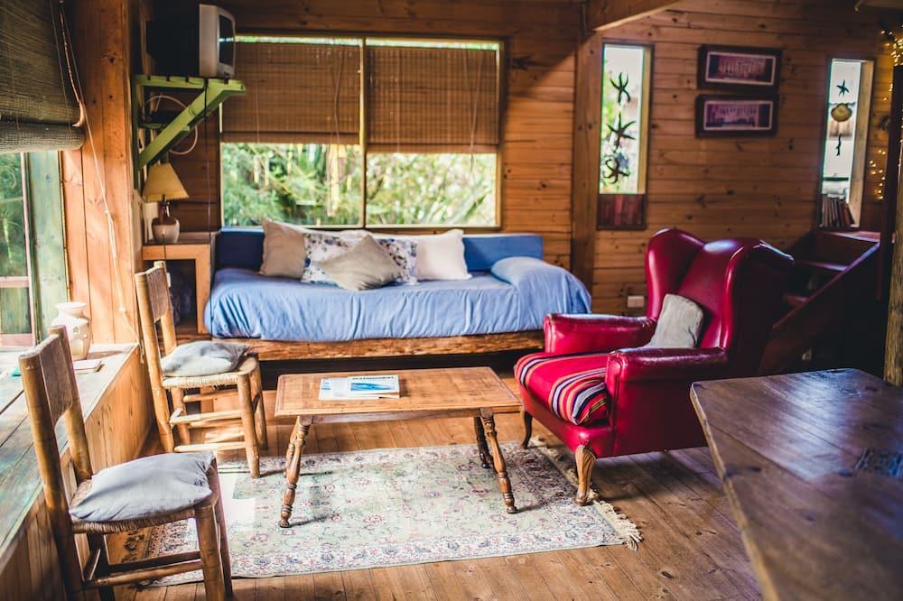 Bungalow Standard, 1 cama de casal - Sala de Estar
