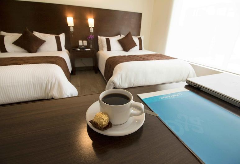 Misión Express Tampico, Tampico, Quarto, 2 camas de casal (Preferencial), Quarto