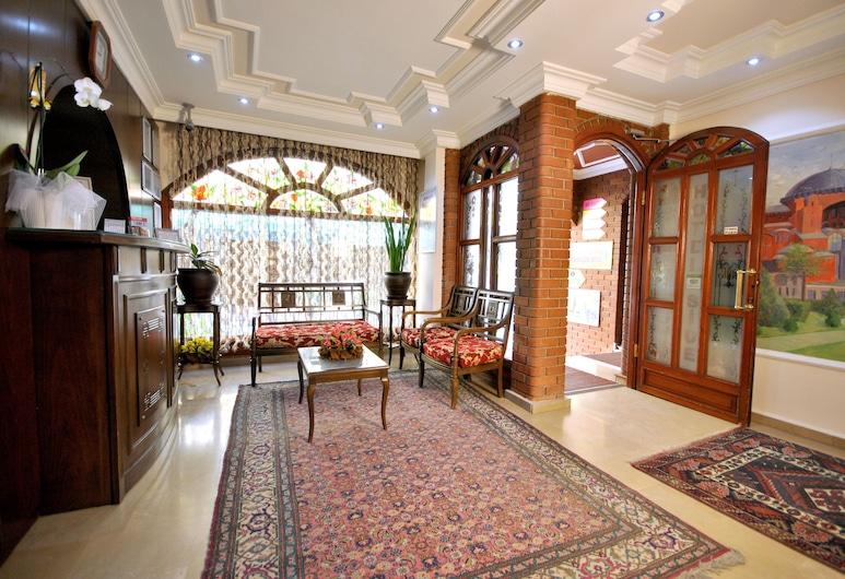 シデ ホテル, イスタンブール, 内部エントランス