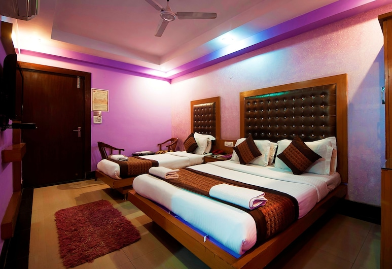 HOTEL GRAND PLAZA, Nuova Delhi, Suite familiare, 1 letto matrimoniale, Camera
