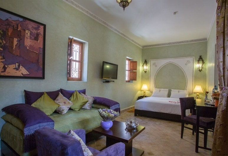 Riad Magda, Marrakech, Luxury Double Room, Private Bathroom, Guest Room