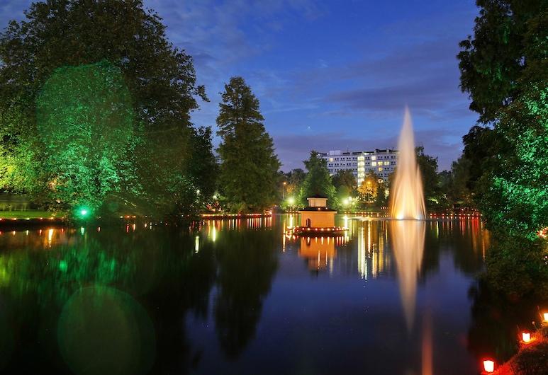 Hotel Rosengarten Am Park, Zweibruecken, Garden