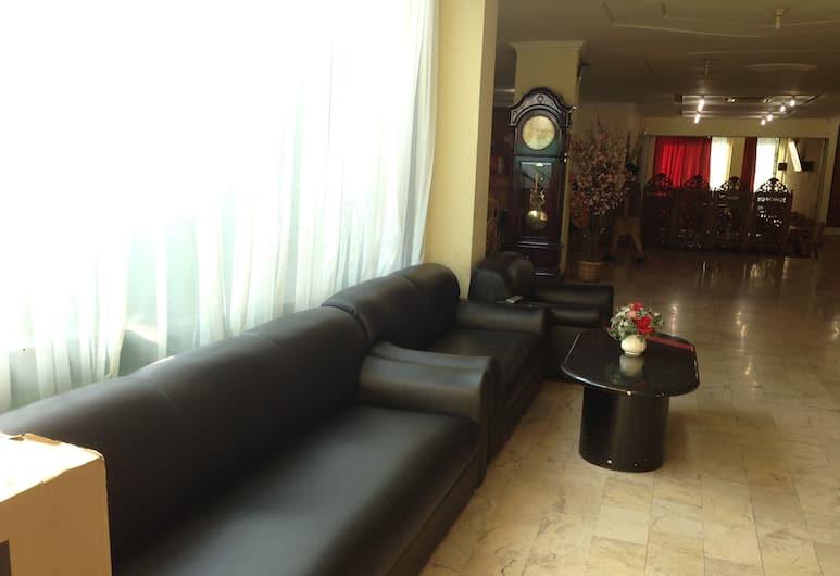 Hotel Lautze Indah, Jakarta, Salon de la réception