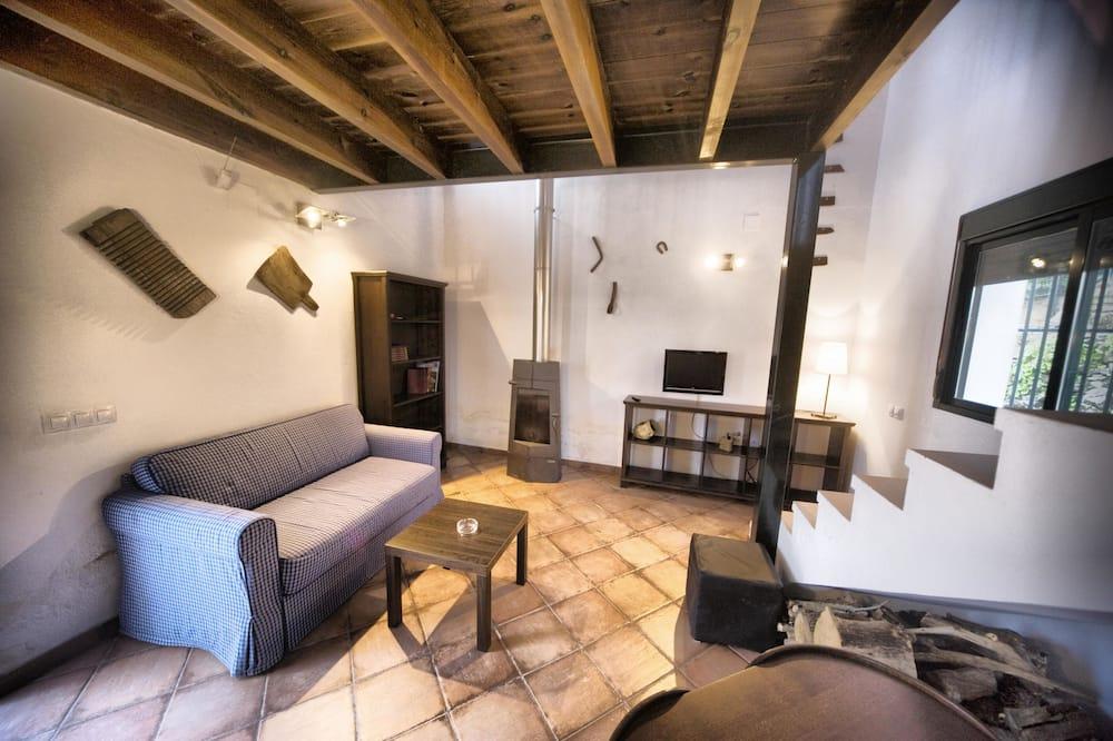 デュープレックス 1 ベッドルーム (Casa del Manganeso) - リビング エリア