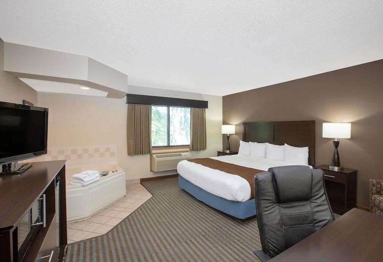AmericInn by Wyndham Lincoln North, Lincoln, Suite, 1 cama King size, con acceso para silla de ruedas, para no fumadores, Habitación