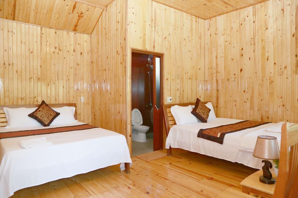 Bungalow Panoramic, 2 łóżka queen, dla niepalących, widok na basen - Prysznic