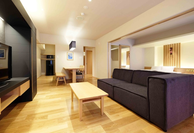 奧奇尼旅館公寓, Osaka, 尊爵公寓, 客廳