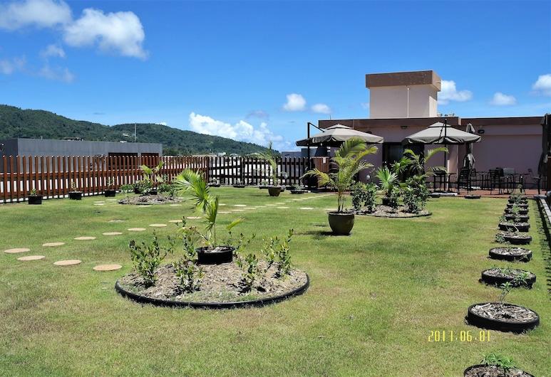 Serenti Hotel, Saipan, Garden