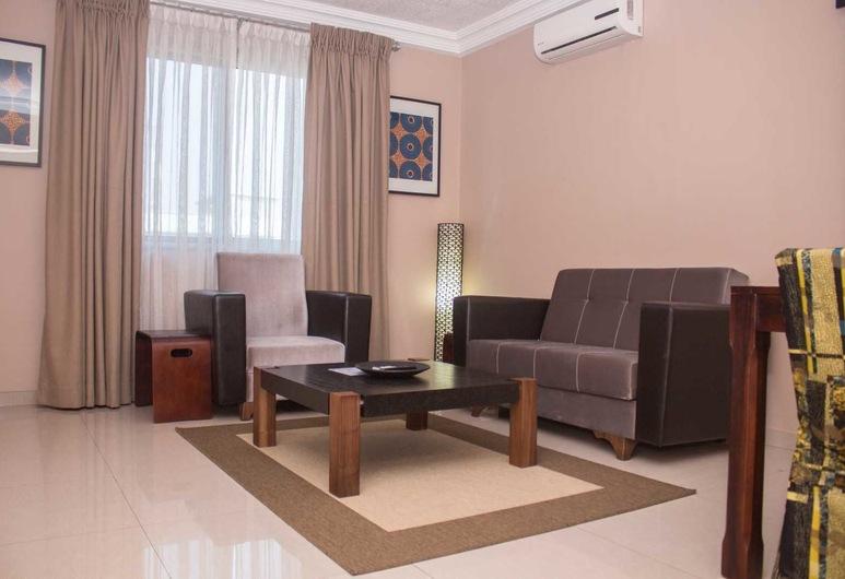 Manjaro Suites, Accra, Standard Apartment, Living Room