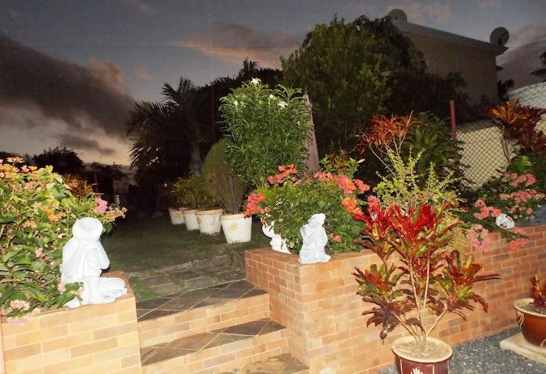 莊園旅館, 羅德里格斯島, 花園