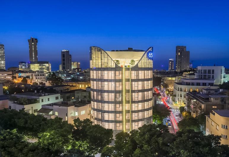 65 Hotel, Rothschild, Tel Aviv - an Atlas Boutique Hotel, Tel Aviv, Hotellfasad - kväll