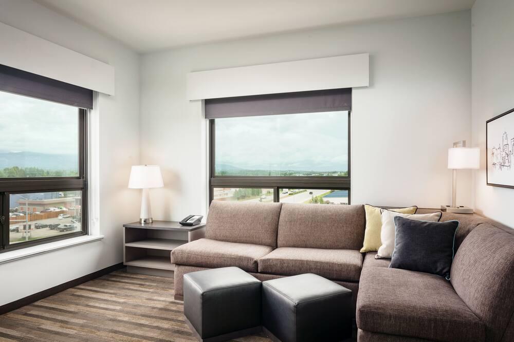 Suite, 1 Schlafzimmer (2 Queen Beds) - Wohnbereich