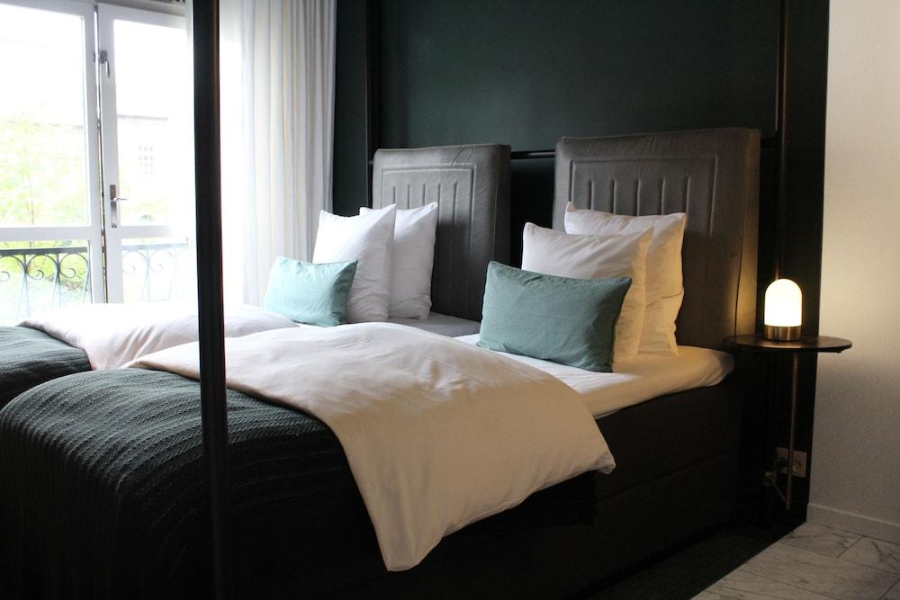 Hotel Danmark, Copenhagen, Superior dobbeltrom/tomannsrom, Gjesterom