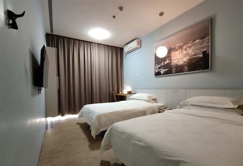 Colour Inn Shenzhen Dongmen Branch, Shenzhen, Standard Twin Room, Guest Room