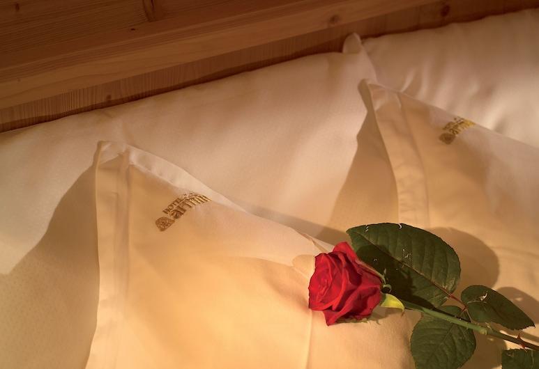 ホテル アルミン, サルヴォ ディ ヴァル ガルデーナ, ジュニア スイート 2 ベッドルーム バルコニー (Comfort), 部屋
