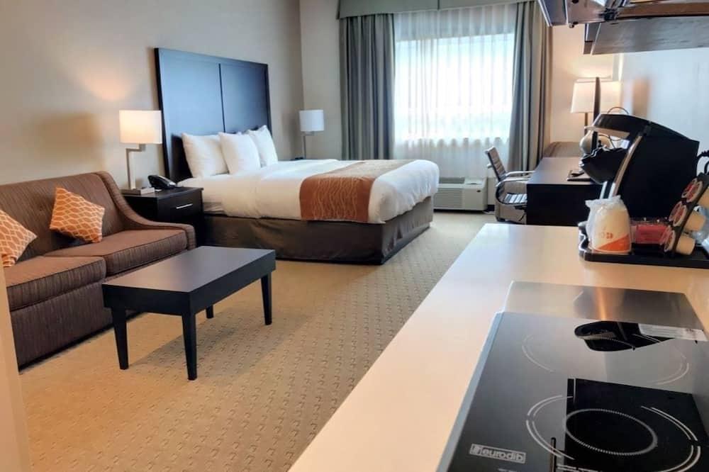 Efficiency, Suite, 1 très grand lit et 1 canapé-lit, non-fumeurs - Chambre