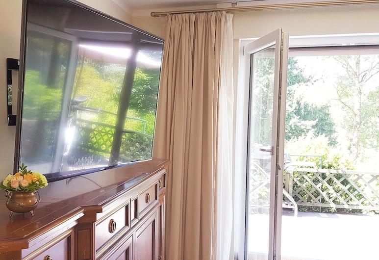 Aparthotel Voglergasse, Baden-Baden, Departamento Confort, 2 habitaciones, patio, vista a la montaña, Vista desde la habitación