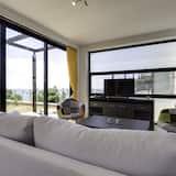 Вілла, 3 спальні, приватний басейн, з видом на море - Вітальня