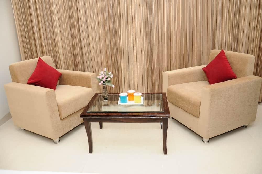 行政雙人房單人入住, 1 間臥室 - 客廳