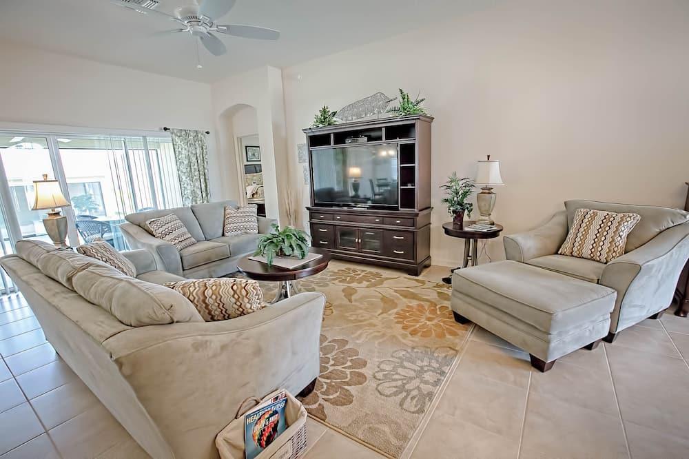 하우스, 침실 3개 - 거실 공간