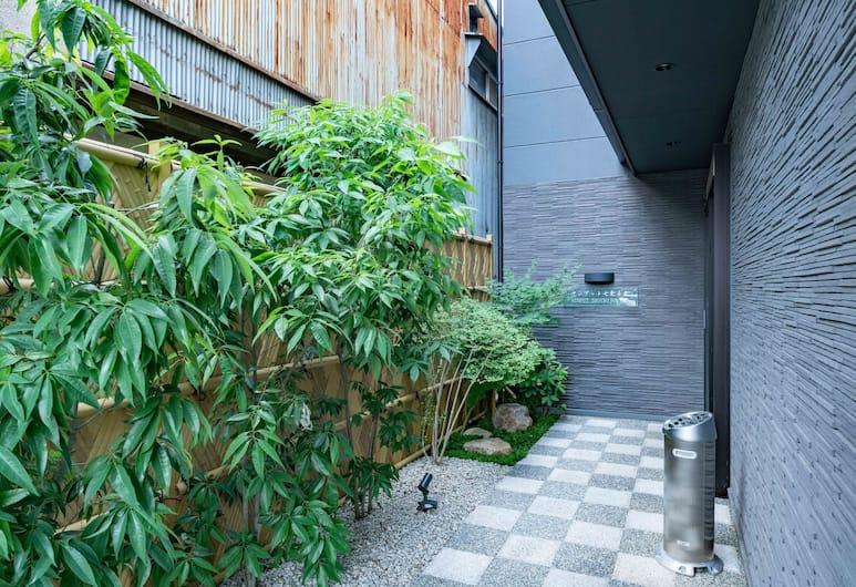 OYO 638 MUSUBI KYOTO Nanajo Mibu, Kyoto, Hotellets indgang
