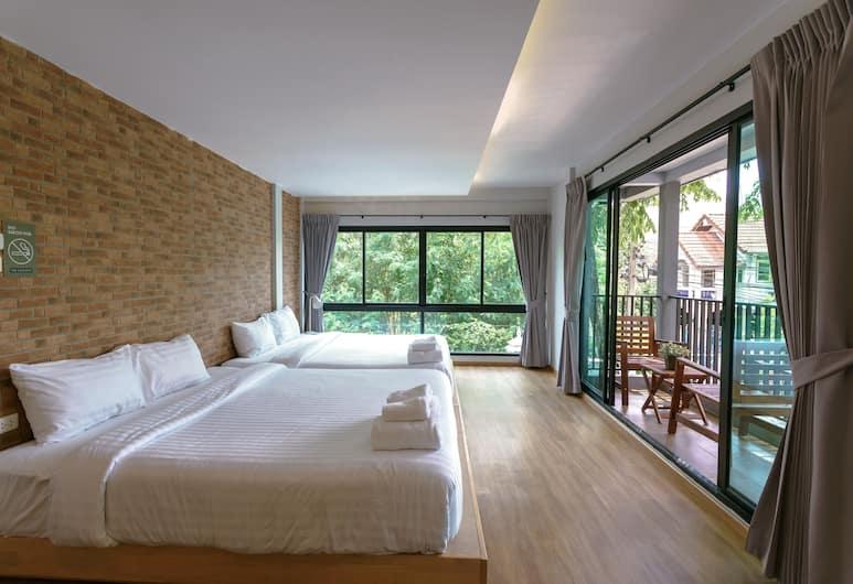 Nest by Sa-ngob, Bangkok, Dom rodzinny, 2 sypialnie, dla niepalących, Pokój
