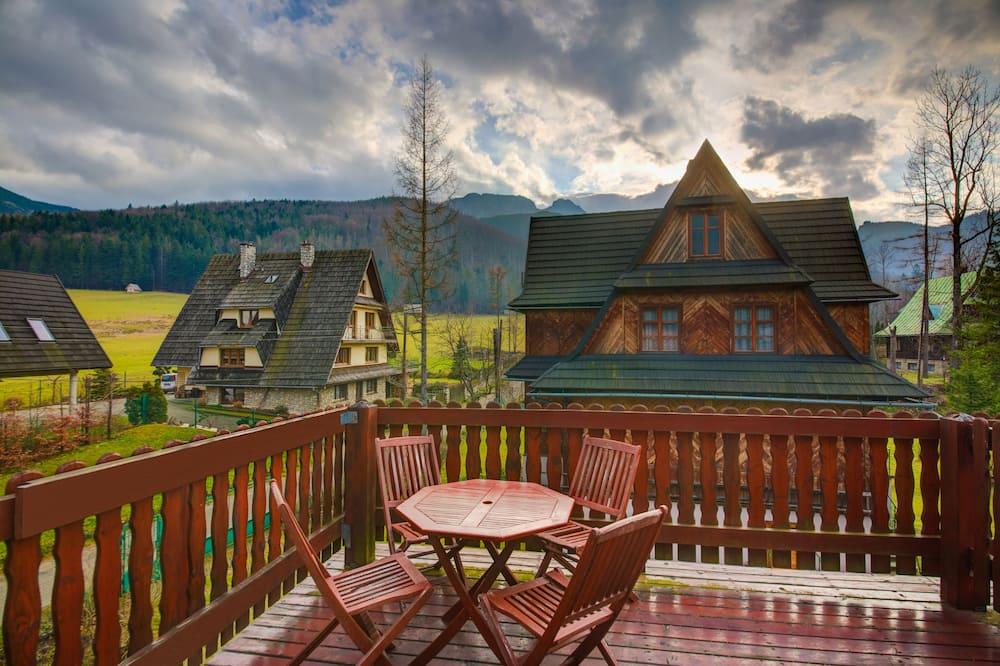 Apartament, 1 sypialnia, kominek, widok na góry (Kasprowy Wierch - 3 persons) - Balkon
