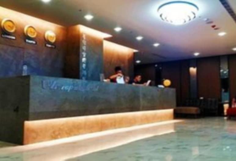 原宿時空膠囊旅館, 新北市, 櫃台