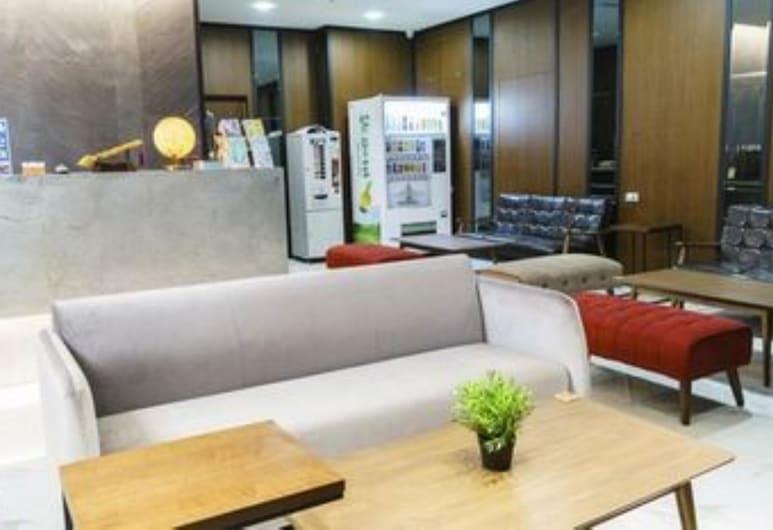 UZ Hostel, Nový Tchaj-pej, Posezení ve vstupní hale