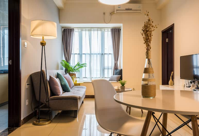 Benshujia Hotel Apartment Pazhou Complex, Canton, Suite monolocale Business, Letti multipli, Camera