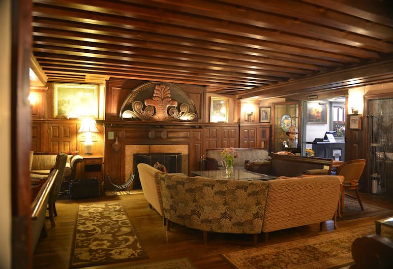 Tabard Inn, וושינגטון, אזור ישיבה בלובי