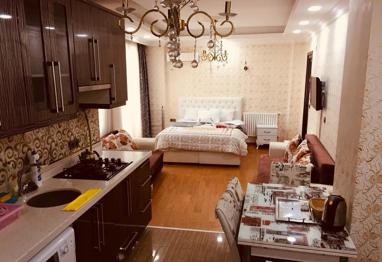 Ayasofya Deluxe Apart, Istanbul, Căn hộ Deluxe, Bếp riêng