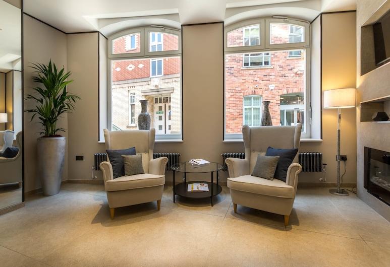 Mansio Suites Basinghall, Leeds, Lobby Sitting Area