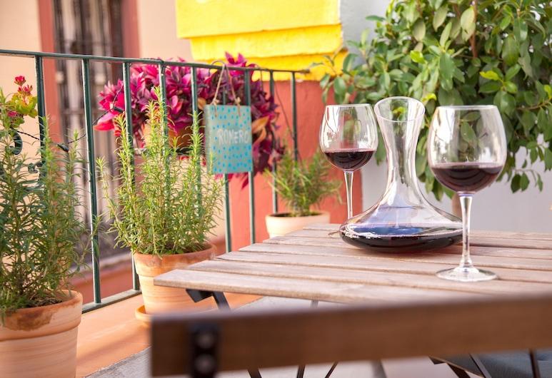 Come to Sevilla - La Casa de las Especias, เซบียา, เพนท์เฮาส์, ระเบียง, ห้องพัก