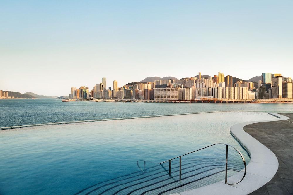香港嘉里大酒店, 九龍, 室外泳池