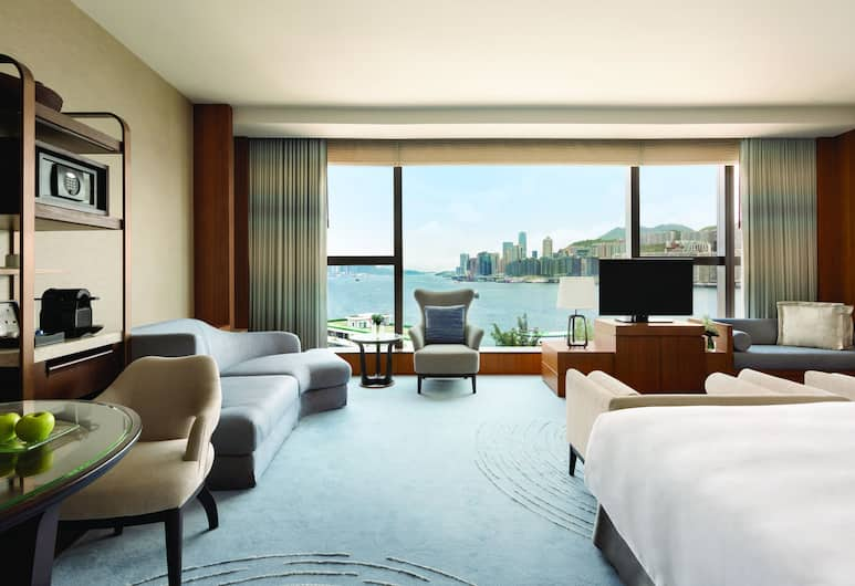Kerry Hotel, Hong Kong, Kowloon, Premier Sea ViewTwin Room, Guest Room View