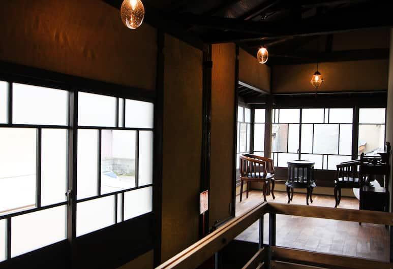 Kyoto Ryoan ZEN, Kyoto, Гостиная в вестибюле